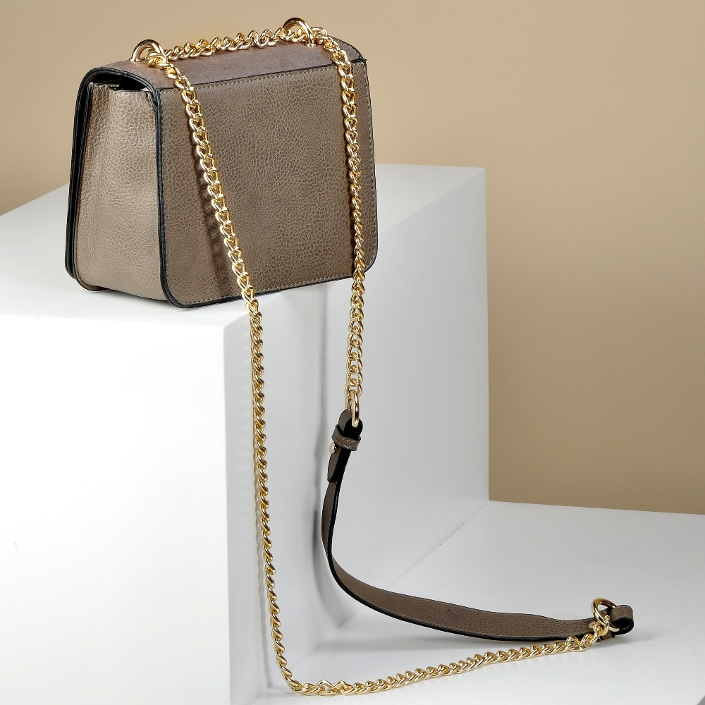 Sinsaut Summer Fashion Women Chain Bag Handbag PU Leather Shoulder Bag Small Flap Crossbody Bags for Women Serpentine Flower bag