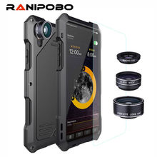 3-Layers Hybrid Shockproof Phone Cases for iPhone