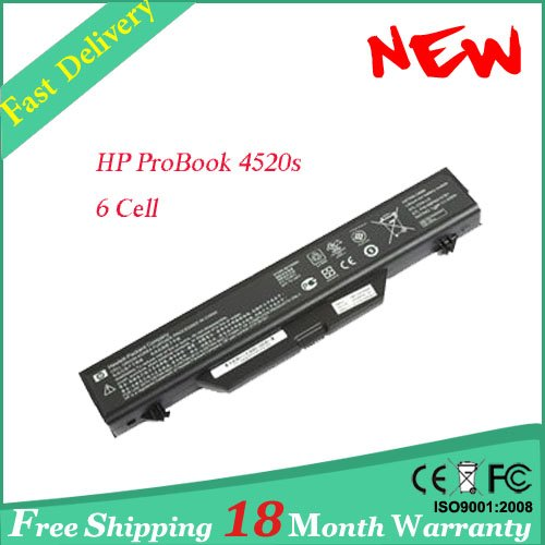 Replacement for HP ProBook 4520s 4720s Laptop Battery, Free shipping