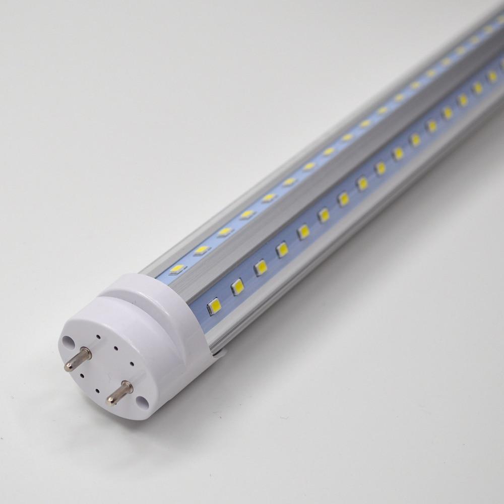 """Image 5 - 2 50/pack V shaped LED Tube Lights 2ft 3ft 4ft 5ft 6ft Fluorescent Bulb Super Bright 24"""" 36"""" 48"""" 60"""" 70"""" T8 G13 Bar Lamp-in LED Bulbs & Tubes from Lights & Lighting"""