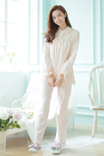 Free shipping L272 new arrival winter cotton women's pajamas, high quality sweet princess sleep set, long sleeve pajama set