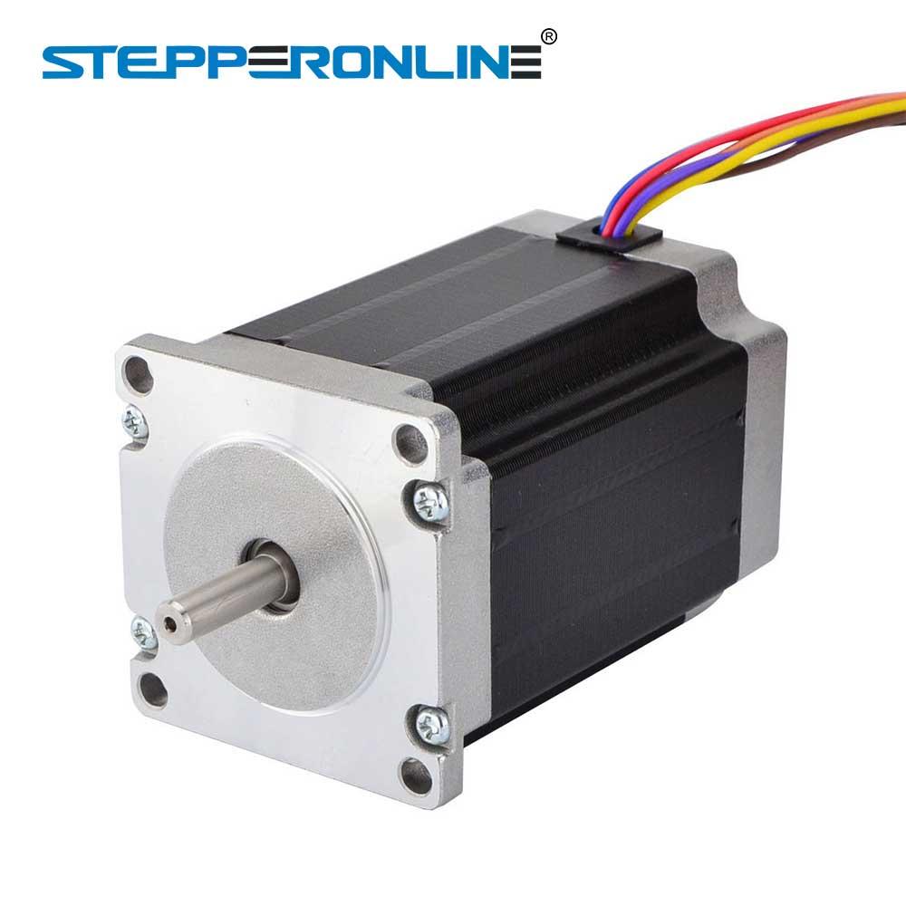 Nema 23 Stepper Motor 2.83Nm(400oz.in) 57x57x84mm 8-lead 1.8 Degree 4A for 3D Printer CNC Lase RouterNema 23 Stepper Motor 2.83Nm(400oz.in) 57x57x84mm 8-lead 1.8 Degree 4A for 3D Printer CNC Lase Router