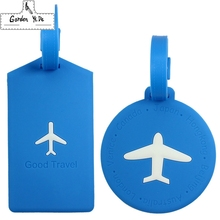 Laggage&bags Accessorles Cute Novelty Rubber Funky Travel Luggage Label Straps Suitcase Luggage Tags Free Shipping