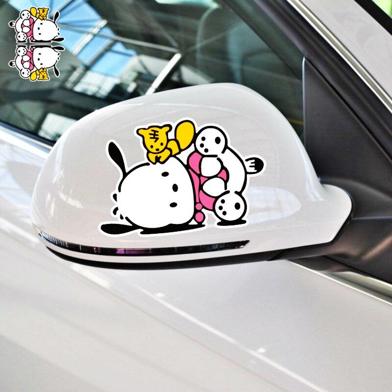 "Hello Kitty Sanrio Kuromi Car Car Truck Window JDM Fun 7/"" Vinyl Decal Sticker"