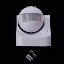 цена на 110-240V 180 Degree Outdoor IP44 Security PIR Infrared Motion Sensor Detector Movement Switch