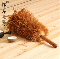 Rooster Chicken Feather Duster house cleaning car cleaning brush for a dust dusters to clean the house. Well package