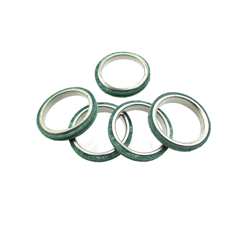 XLSION Aftermarket 5Pcs Exhaust Muffler Pipe Gasket 30mm For Scooter Moped  GY6 49cc 50cc 125cc 150cc Motorcycle