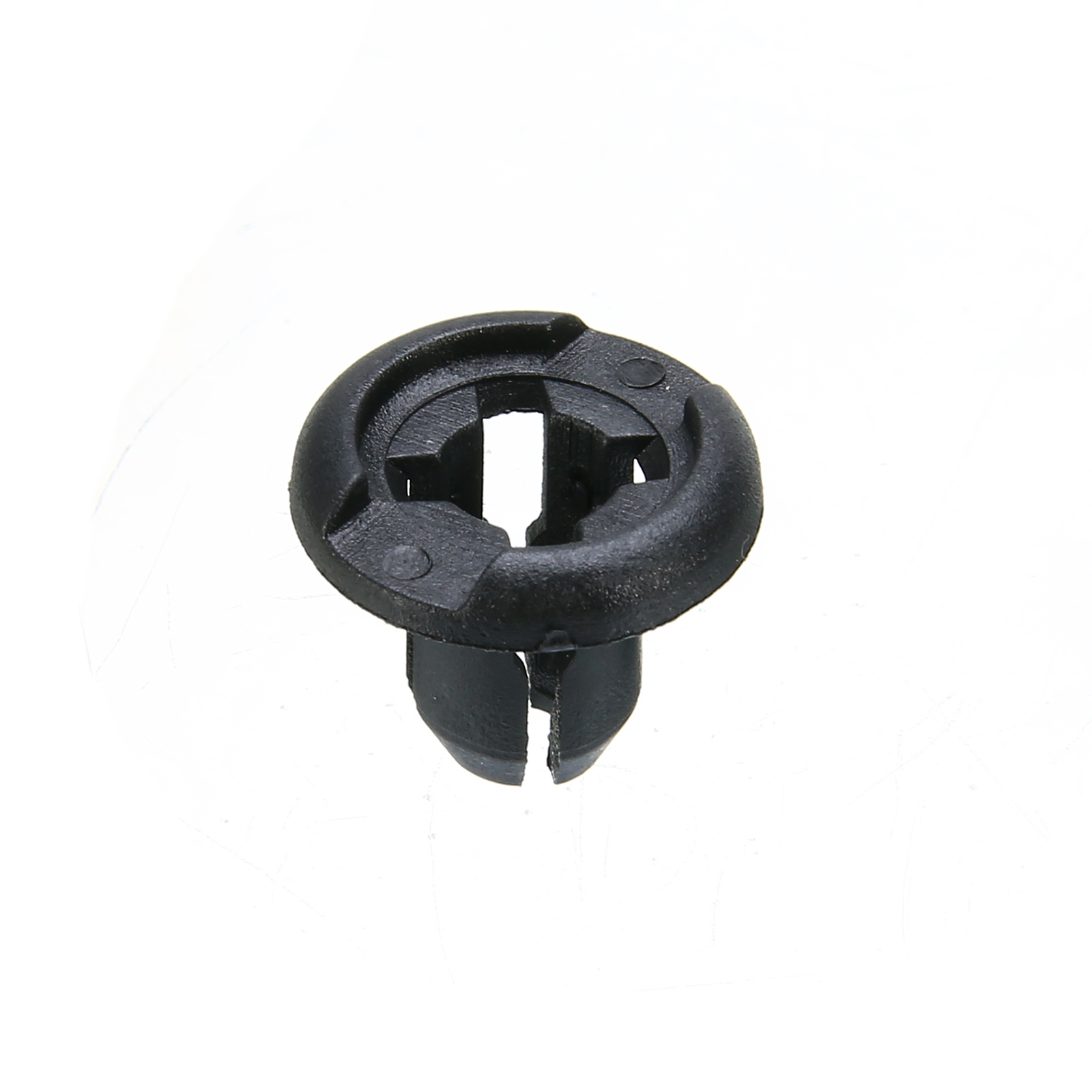 50Pcs/Lot 10mm Hole Car Plastic Rivet Bumper Fender Retainer Fastener Push Clips Pin Black Car Styling