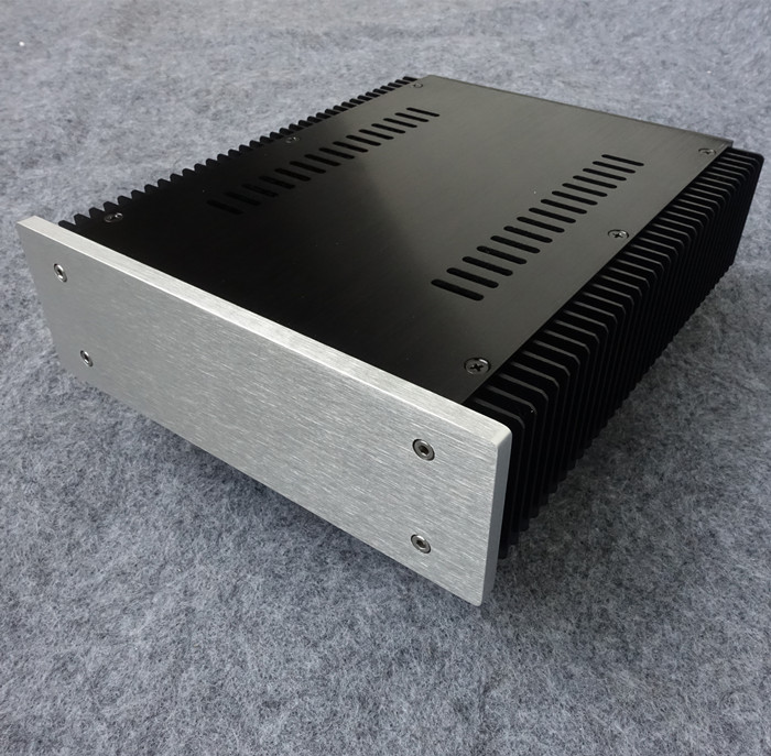 2107- Full Aluminum Power amplifier Enclosure/ headphone amp / preamp case