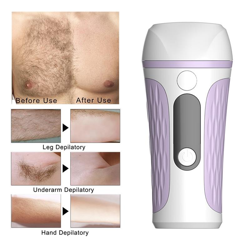 500000 Flash Professional Permanent IPL Epilator Laser Hair Removal Electric Photo Women Painless Threading Hair Remover Machine