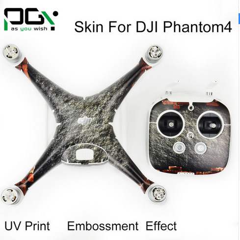 DJI Phantom 4 Stickers Professional accessories PVC 3M Waterproof Skin professional Quadcopter Drone parts