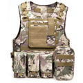 Outdoort Hunting Fishing Accessories CS Camouflage Vest Amphibious Multi Pockets Military Tactical Airsoft Molle Plate Carrier