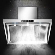 Вытяжка 900 мм из нержавеющей стали, подвесная панель для дома, вытяжка для кухни