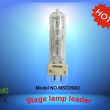 ROCCER MSD250 GY9.5 Металлогалогенная лампа 250 Вт CE сценический светильник лампа для 250 Вт движущаяся головка 8000 К msd250/2 HSD250W/80 msd 250 2