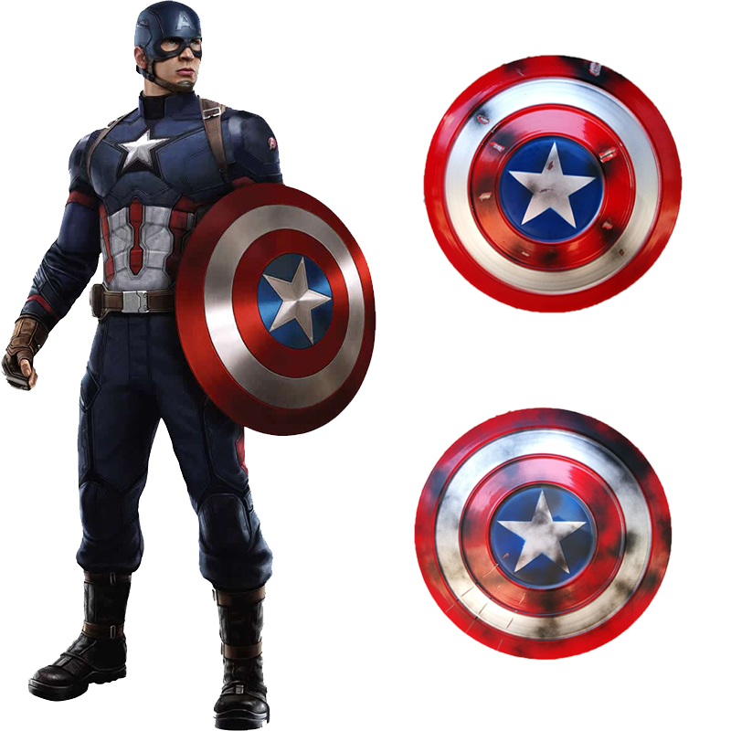 Captain America Shield Cosplay Props Avengers Endgame Weapon Captain America Steve Rogers Accessories Halloween PartyCostume Props   -
