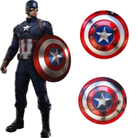 Captain America Shield Cosplay Props Avengers Endgame Weapon Captain America Steve Rogers Accessories Halloween Party