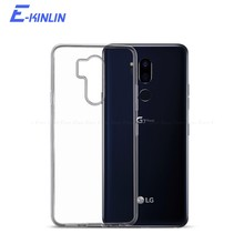 Silicone Ultradunne Clear Soft Cover Voor Lg Q70 Q8 Q7 Q6 Q6a Alpha G8S G7 G6 G5 V30 V30S Plus v35 V40 V50 5G Thinq Tpu Back Case(China)
