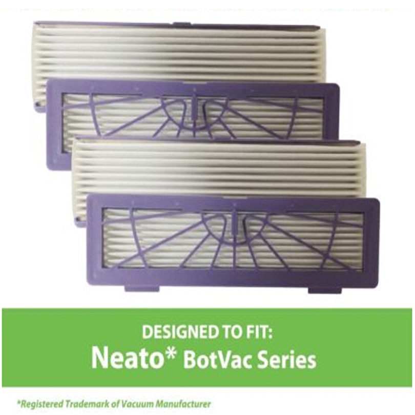 Free shipping suitable for Neato BotVac 70e, 75, 80 & 85 Series Filters # 945-0123   4pk