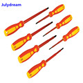 New 7Pcs Electrical Screwdriver Set Insulated for Applications Up to 1000V AC and 1500V DC