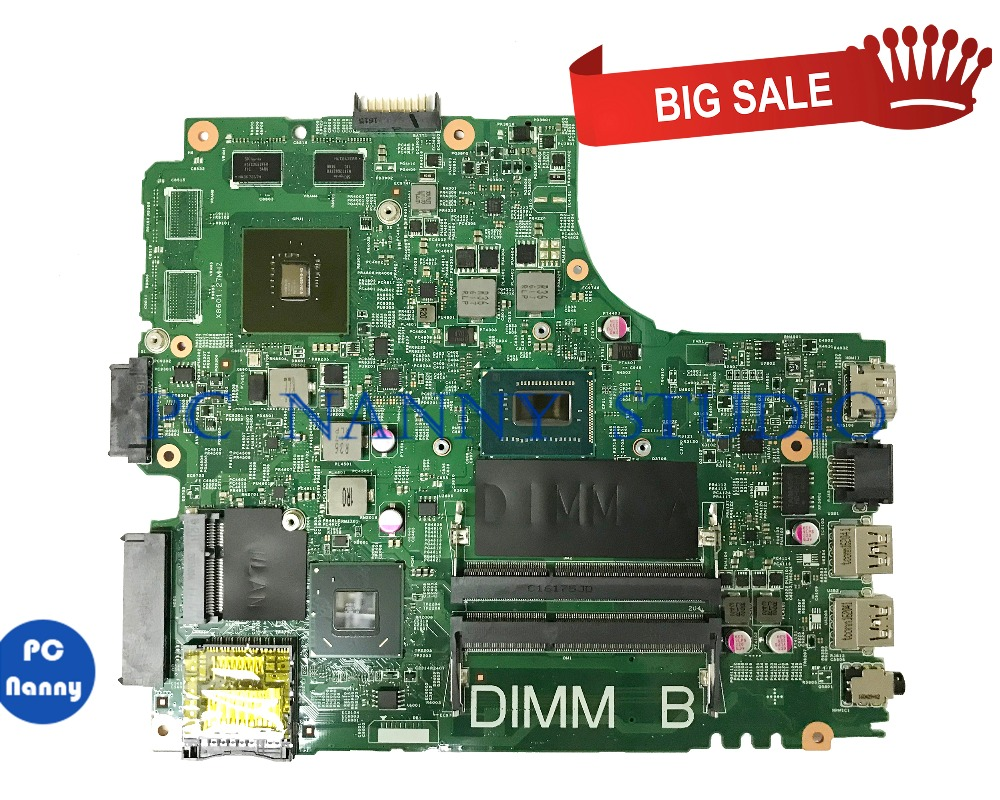 PCNANNY 055NJX 55NJX For <font><b>dell</b></font> Inspiron 15R <font><b>3421</b></font> Mainboard <font><b>I5</b></font>-3337U DDR3 GT625M 12204-1 tested image