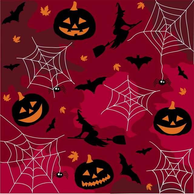 Arrière-plans Rose citrouille pour Halloween noir chauve-souris blanc toile de fond Photo pour Studio Photo 3x5ft