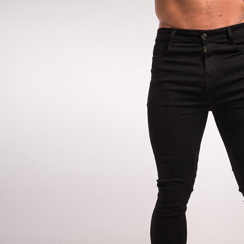gingtto-mens-skinny-jeans-black-denim-super-stretchy-zm01-4