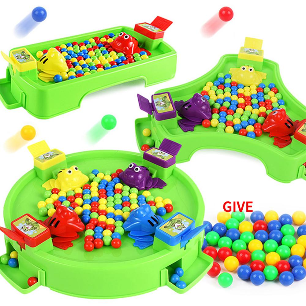 Funny Desktop Game Beads Frog Eating Peas Great Family Competitive Interactive Table Strategy Toy Kid Party Toys For Children