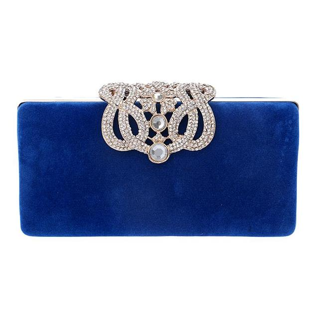 Crown Rhinestones Clutch
