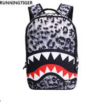 2019 Women Backpack 3D Cartoon Leopard Ear Backpack FAshion Printing Backpack Casual bts School bags for teenagersTravel Bags