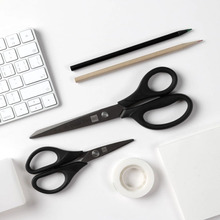 Youpin Huohou Titanium plated Scissors Black Sets Sewing Thread  Rust Proof  Pruning Scissor Leaves Trimmer Non slip Tools Kit