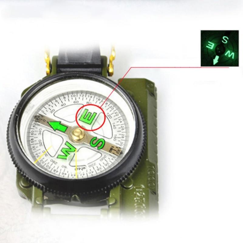 Тип компас походный инструмент для кемпинга походный компас армейский вентилятор для путешествий портативный металлический многофункцио...