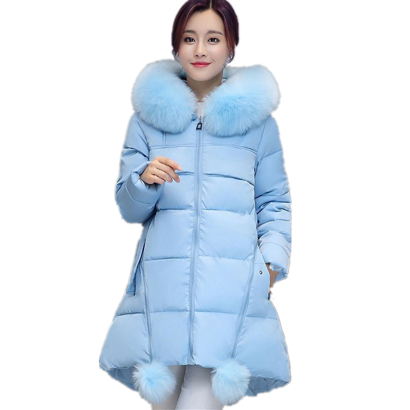 Plus Size 5XL 6XL Winter Jacket Women Coat   Parka   Hooded Warm Thicken Jacket Coat Long Sleeve Outerwear Winter Women's Coat Q951