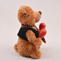 Đồ Chơi sang trọng Gấu Câu Lạc Bộ ca hát đu tương tác thông minh âm nhạc Yi trẻ em đồ chơi plush bán buôn