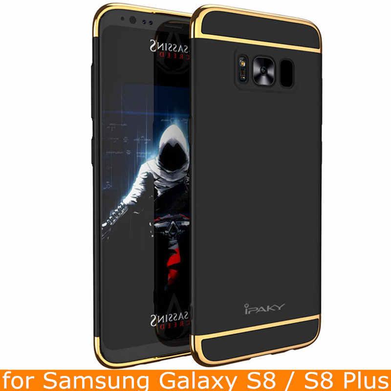 สำหรับS Amsung S8บวกกรณีเดิมiPakyแบรนด์ใหม่กลับกรณีสำหรับSamsugn Galaxy S8ปกกลวงเกราะแข็งสำหรับS8กรณีพลัส