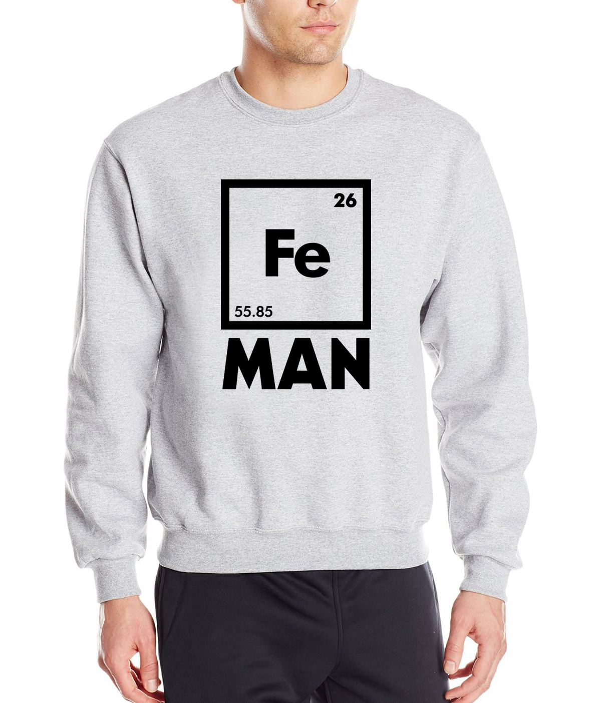 Table english pub table antique periodic table product on alibaba com - 2017 New Spring Winter Iron Science Sweatshirt Funny Chemistry Fe Periodic Table Men Hoodies Fashion Loose Fleece Tracksuit Men