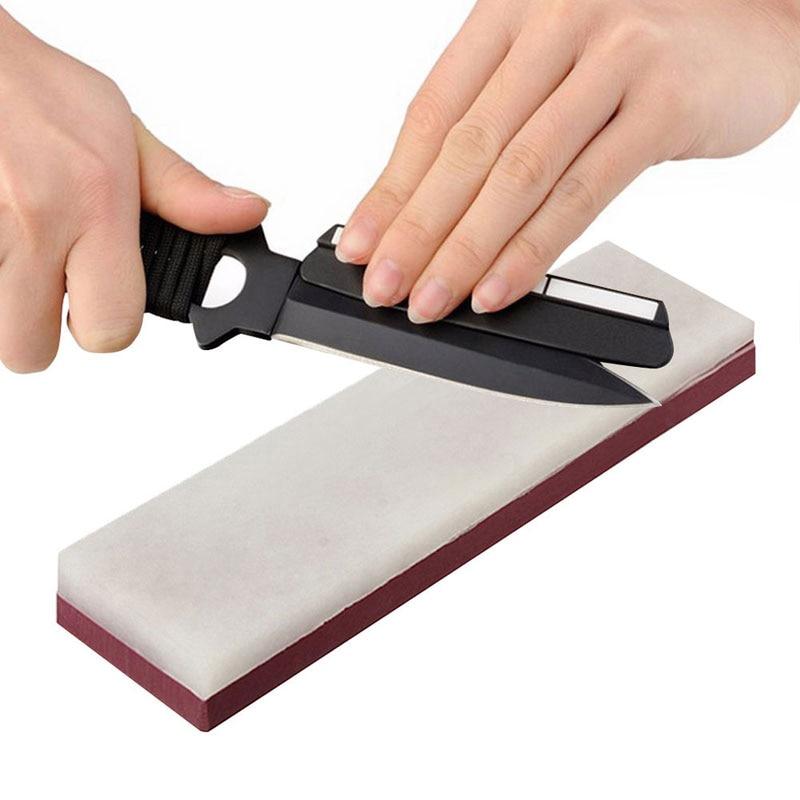 Hot 10000# & 3000# 2-Sides Grit Cutter Razor Sharpener Stone Whetstone Polishing Kitchen Knives Sharpeners 9 FE1318 For