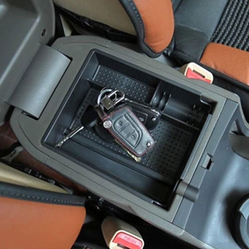 Carmonsons pour Hyundai IX35 Console Accoudoir Central Boîte De Rangement Container Titulaire Plateau Accessoires Organisateur De Voiture Car Styling