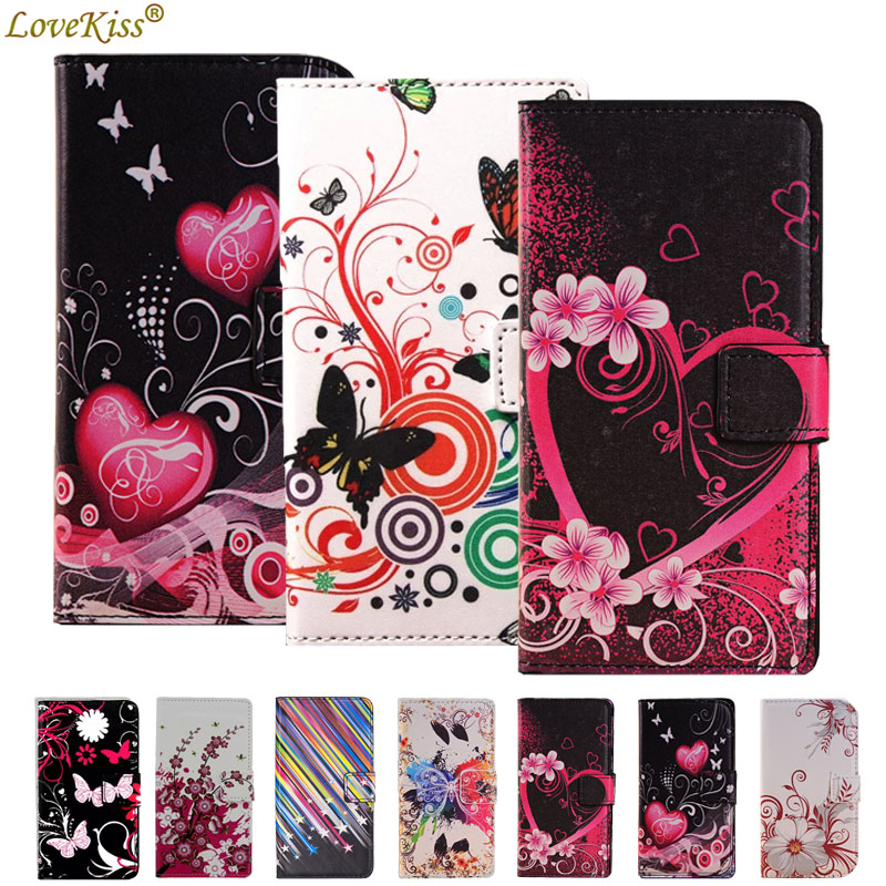 Flower Leather Wallet Phone Bag For Samsung Galaxy A3 A5 A7 J1 J3 J2 J5 Prime A8 2018 Note 8 S7 S8 S9 Plus <font><b>Case</b></font> Cover Flip Stand image