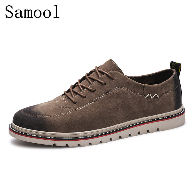 2017 Autumn Winter Men's New Casual Shoes Moccasins High Quality Leather Men Loafers Fashion Comfortable Light Male Boat Shoes top brand high quality genuine leather casual men shoes cow suede comfortable loafers soft breathable shoes men flats warm
