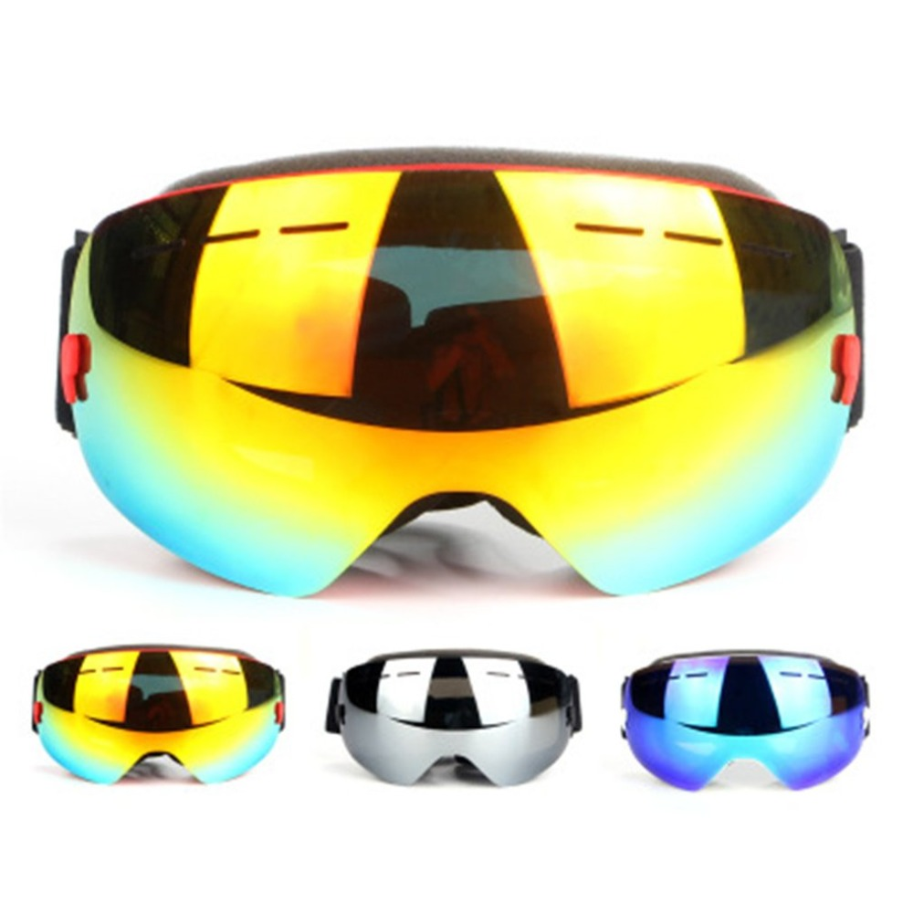 Comfortable Eyewear Winter Snow Skiiing Cycling Goggles Dustproof Anti Fog Sunglasses Windproof UV400 Protect Glasses safety potective goggles glasses windproof dustproof eyewear outdoor sports glasses bicycle cycling glasses anti scratch