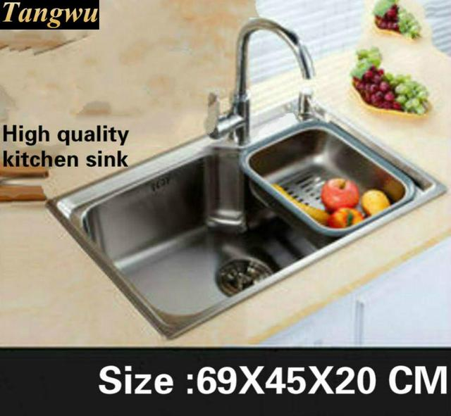 Tangwu High quality kitchen sink Food grade 304 stainless steel ...