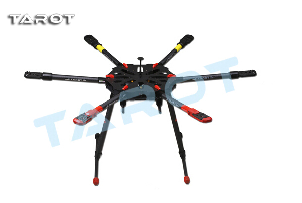 Tarot X6 TL6X001 quadcopter w/Electric Retractable Landing Gear Free Express Shipping