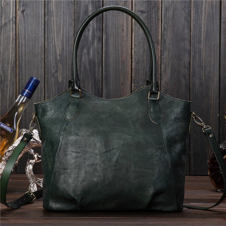 2016 Hot Sale Genuine Leather font b Women s b font Handbags Sprayed Color Retro Cow
