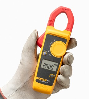 Fluke 302+ Digital Clamp Meter AC / DC Multimeter Tester fluke f302 1 6 lcd ac clamp meter yellow red 3 x aaa