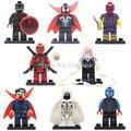 Pg048 moon knight dc marvel super hero avengers figuras colección niños bloques de construcción para niños de regalo para niños juguetes de regalo