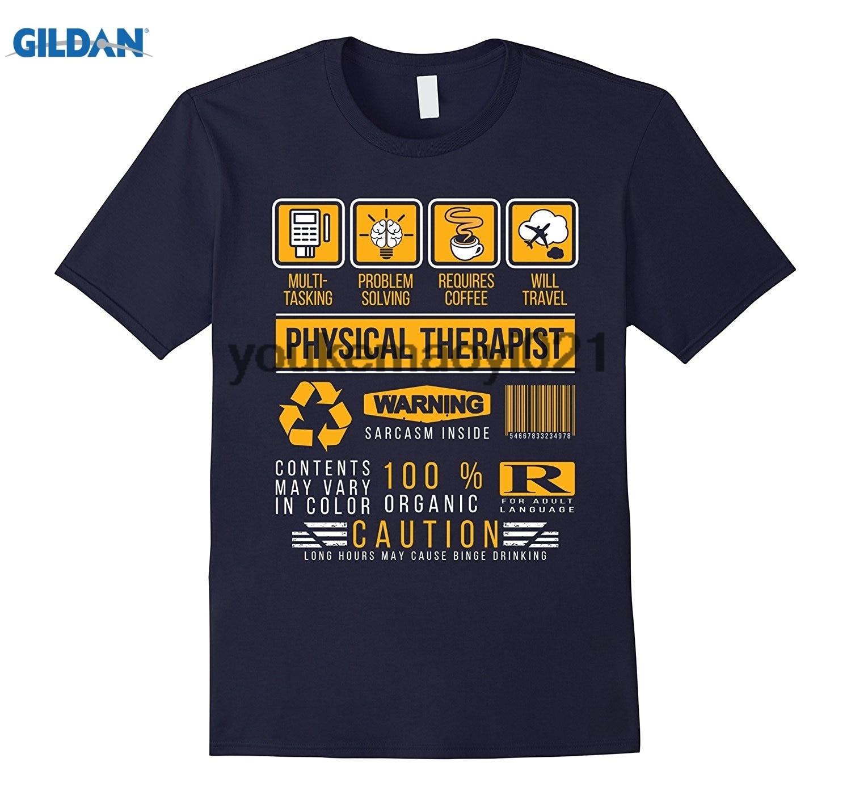 Возьмите физиотерапевт Awesome cool терапии многозадачность подарок футболка