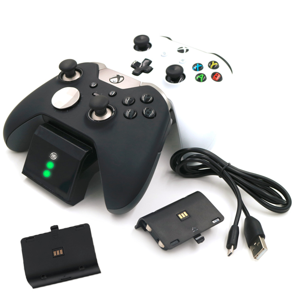 High Quality Gaming Gamer Controller Double Charging Gamepad Joystick For Xbox One For Xbox One S