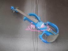 Blau massivholz elektrische violine elektronische violine elektrische violine elektroakustische geige