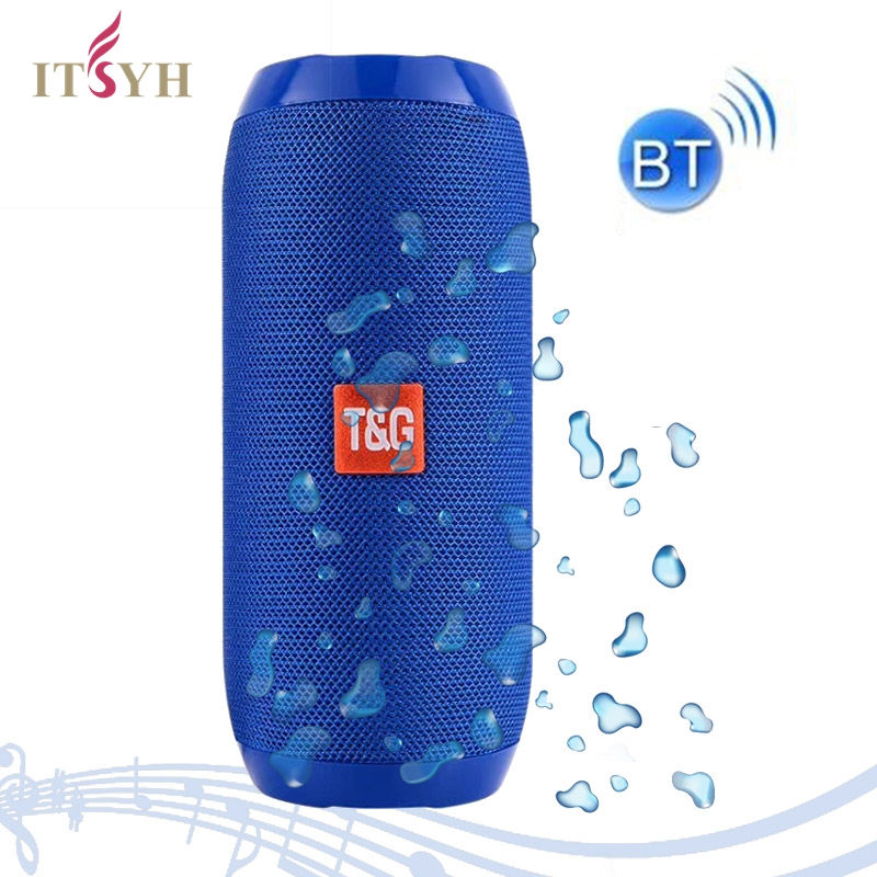 WIRELESS/BLUETOOTH SPEAKER Portable waterproof Speakers TG117 Fabric outdoor sound bar support TF/USB/Handsfree Call ITSYH