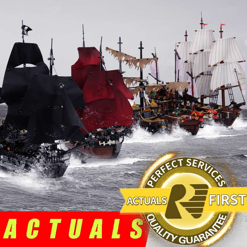 lepin 16006 16016 pirates of the caribbean 16009 queen anne's revenge LegoINGlys 70618 black pearl model building kits blocks lepin 16009 caribbean blackbeard queen anne s revenge mini bricks set sale pirates of the building blocks toys for kids gift